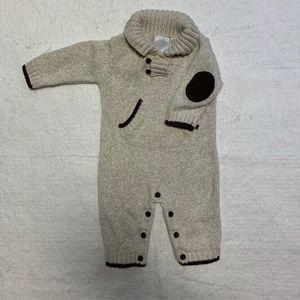 Sweater playsuit